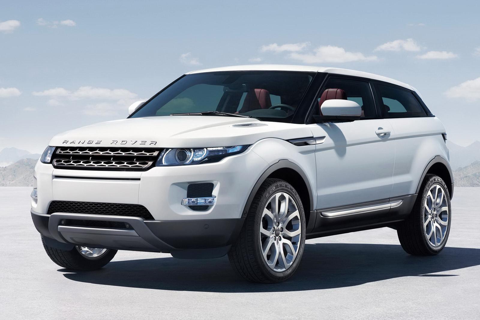 white range rover evoque picture