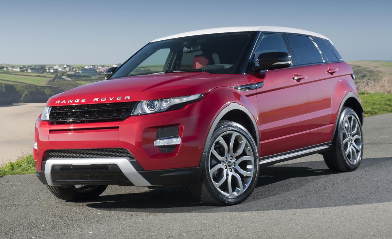 amazing range rover evoque