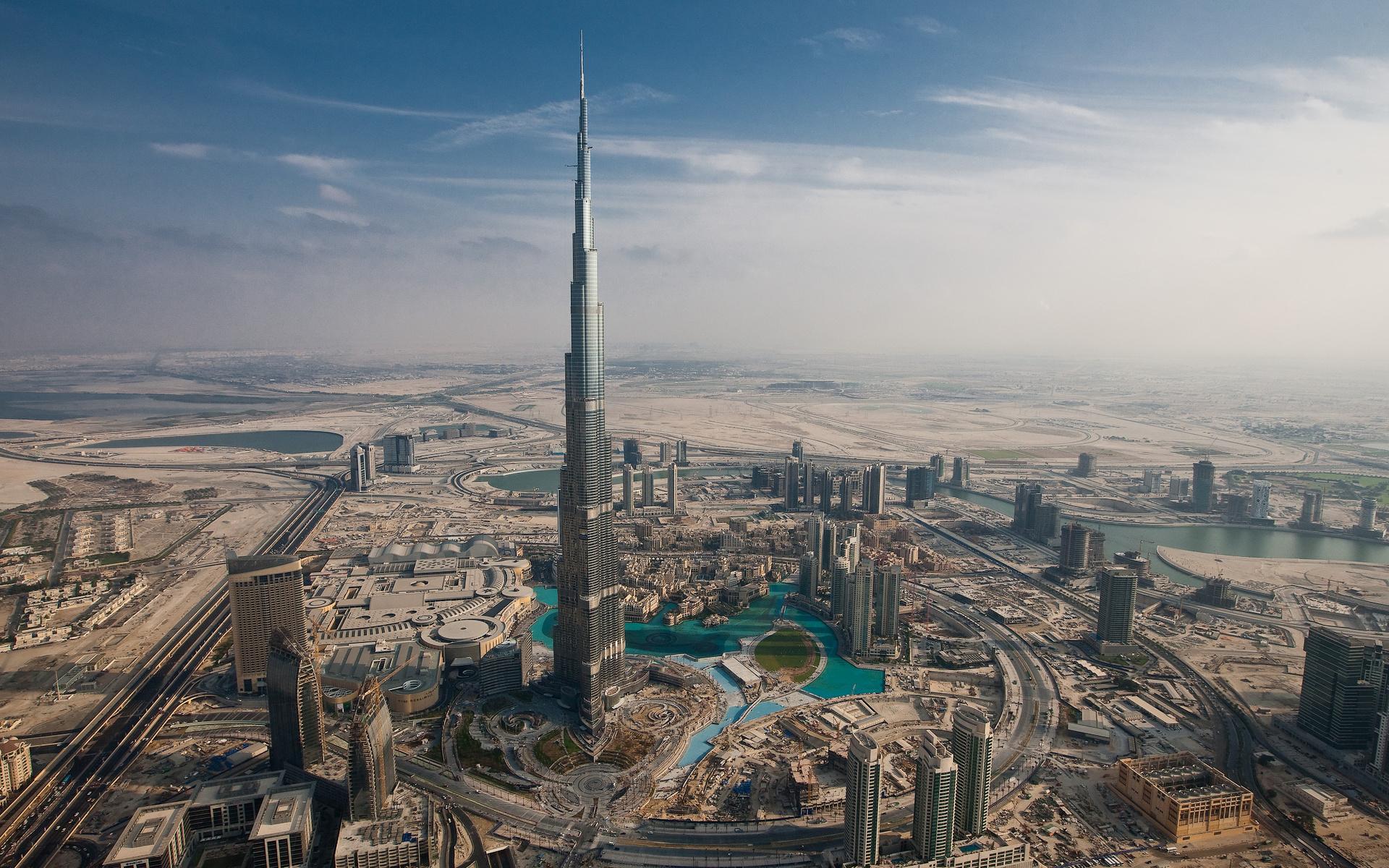 wonderful dubai cityscape image