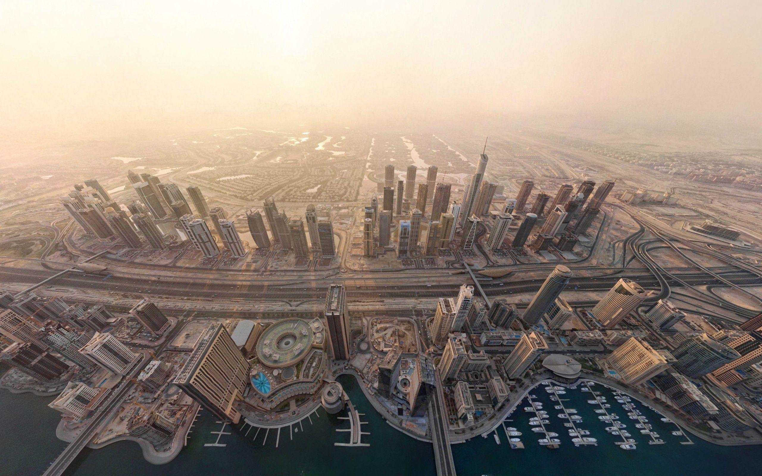 digital dubai cityscape picture
