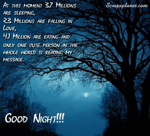 beautiful good night picture