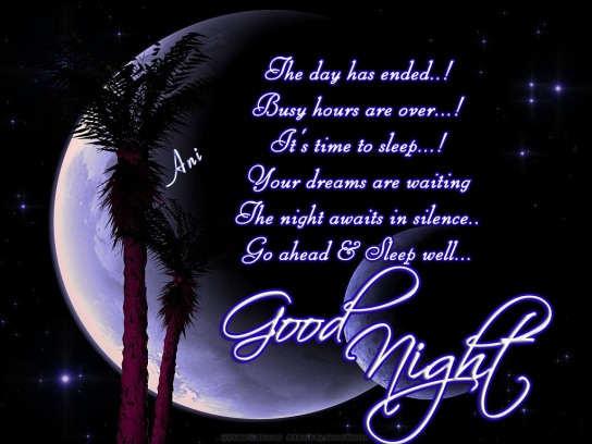 xcitefun good night wallpaper