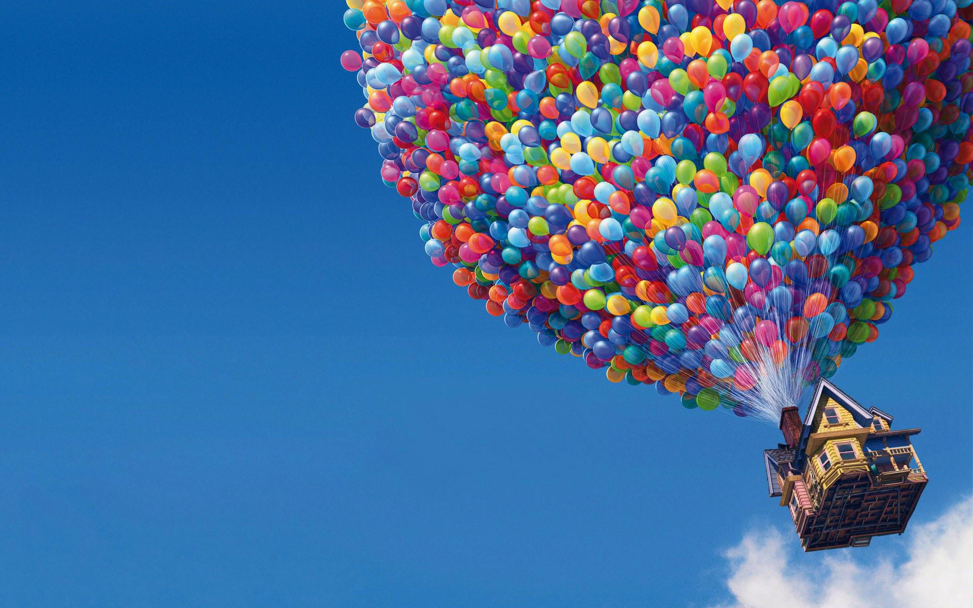 lovely balloons wallpaper image