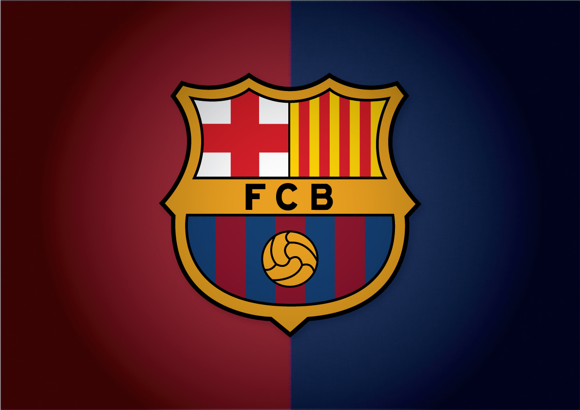 nice fc barcelona logo