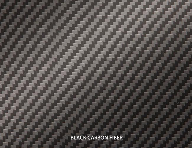 black vehicle carbon fiber