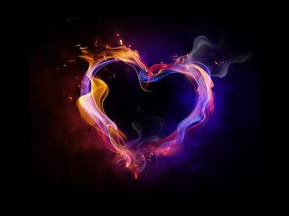 colorful love photo image