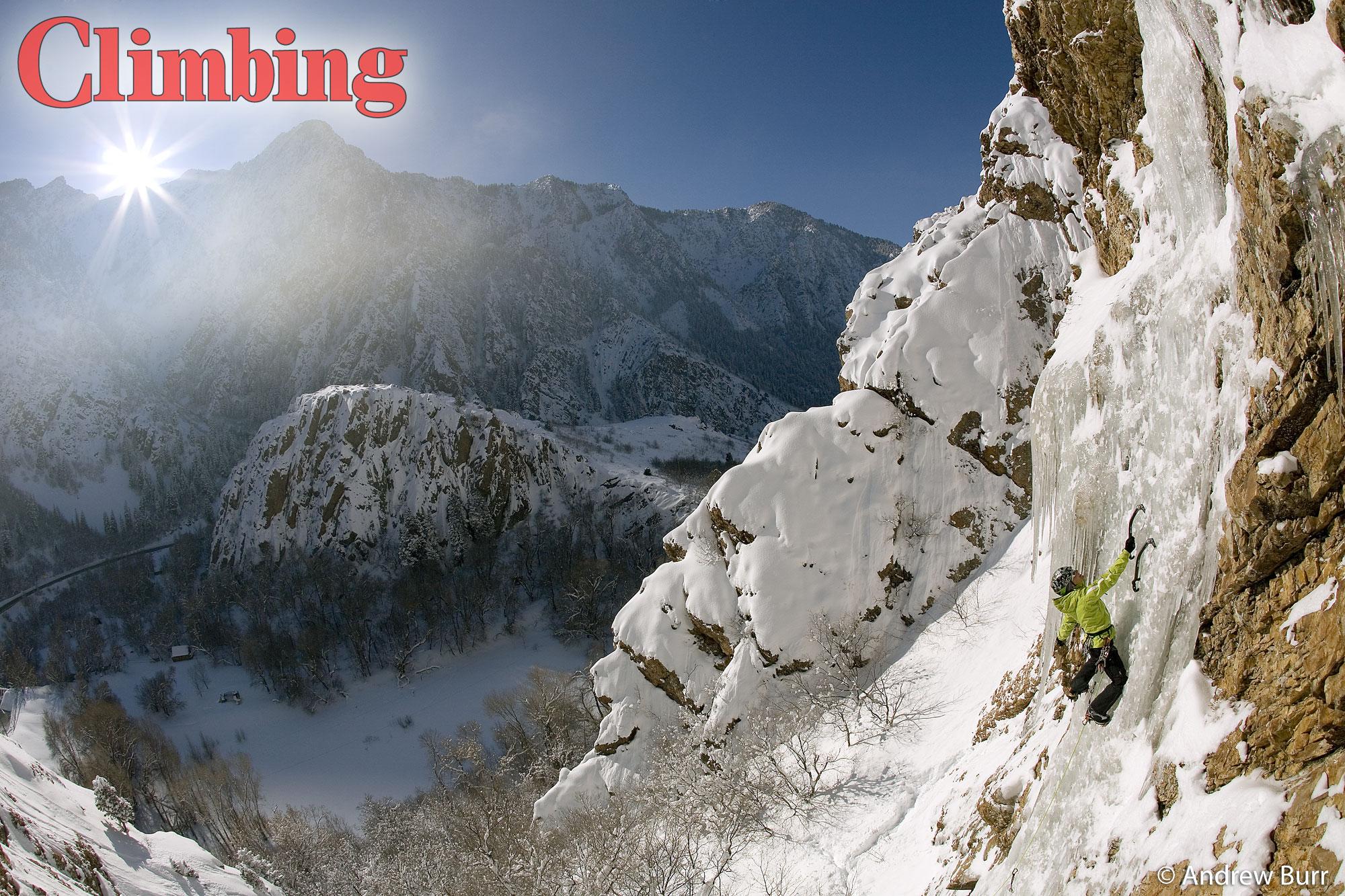 full 3d Ice climbing