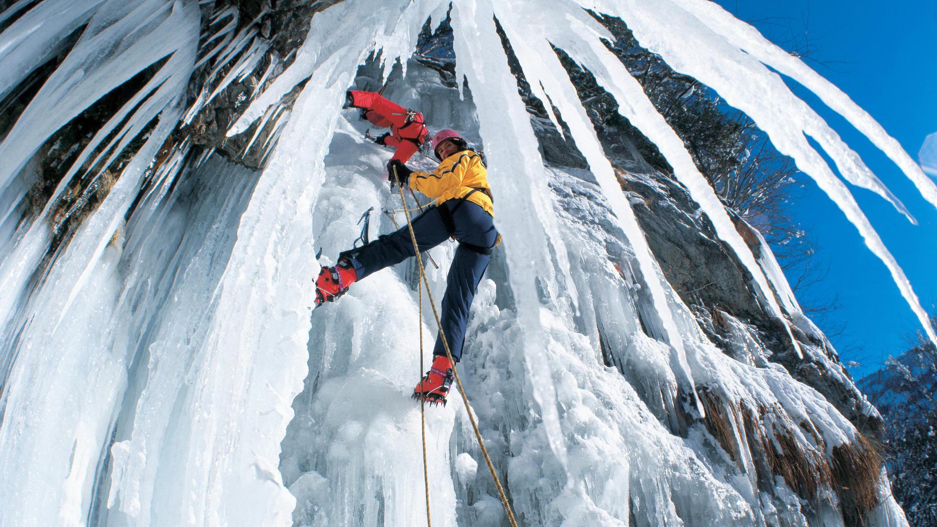 fantasy Ice climbing image