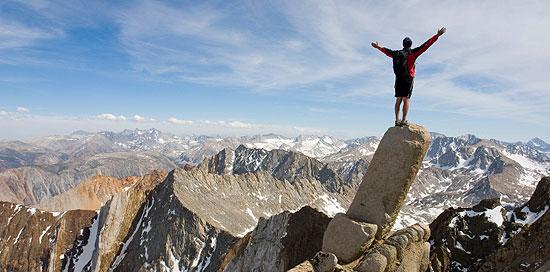 awesome mountain climbing