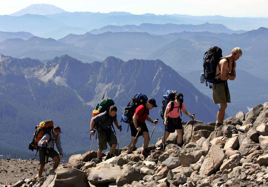 super mountain climbing image