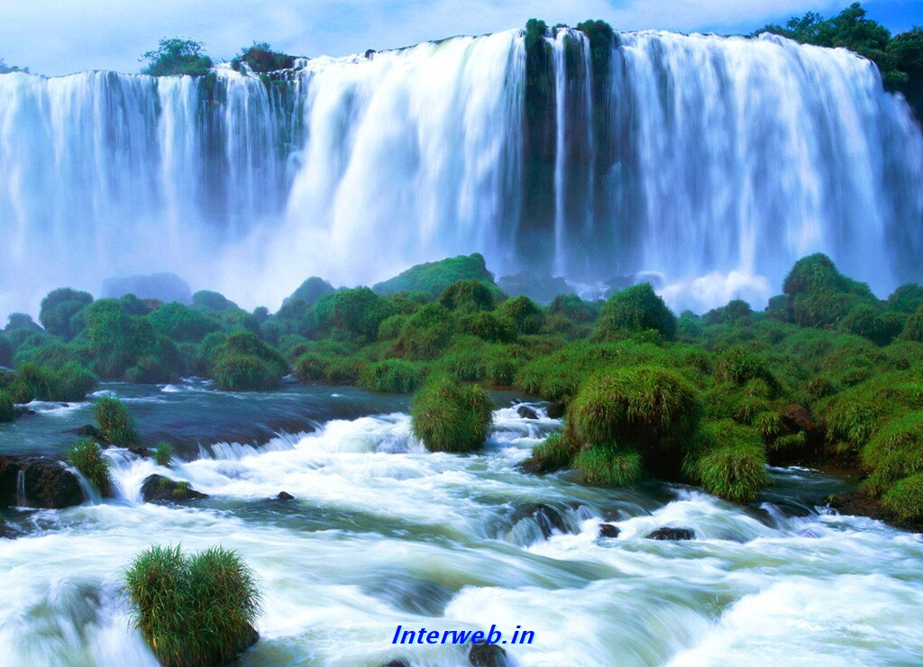 high quality waterfall image pc