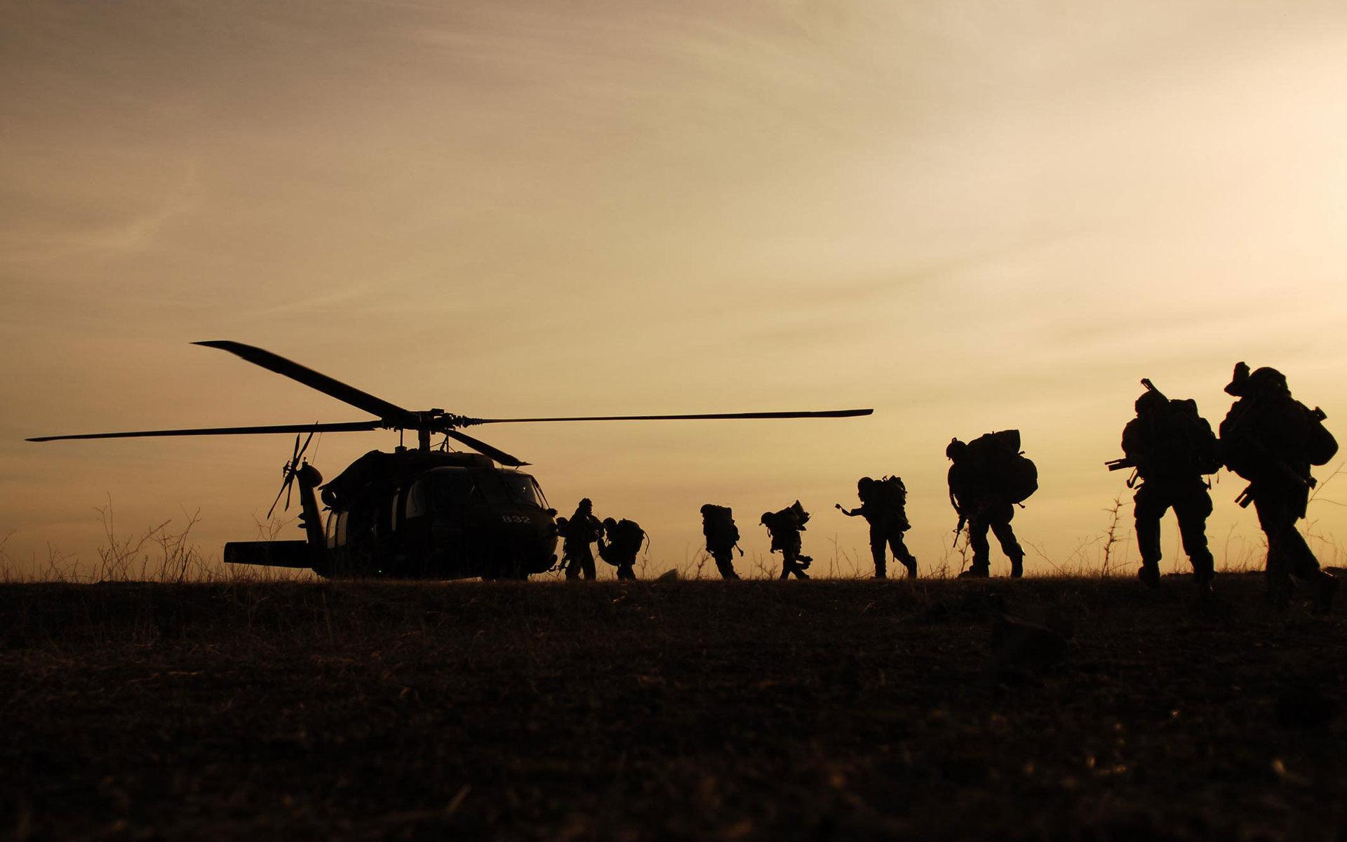 sun down army image