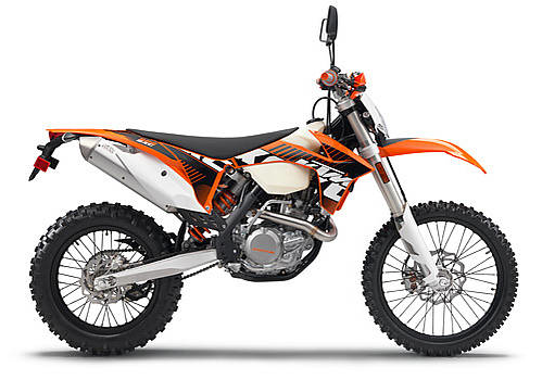 EXC Modern KTM suzuki bike