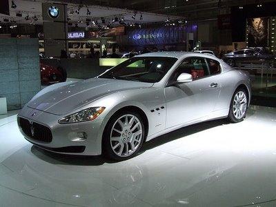 silver maserati cars image