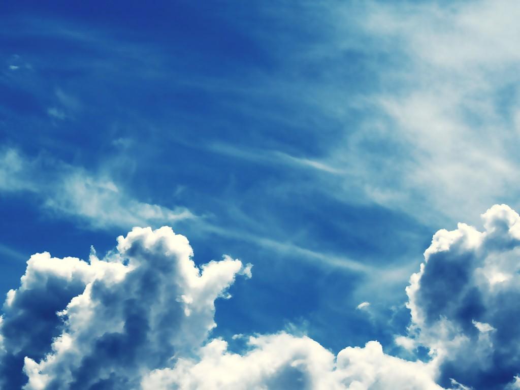 blue sky cloud wallpapers