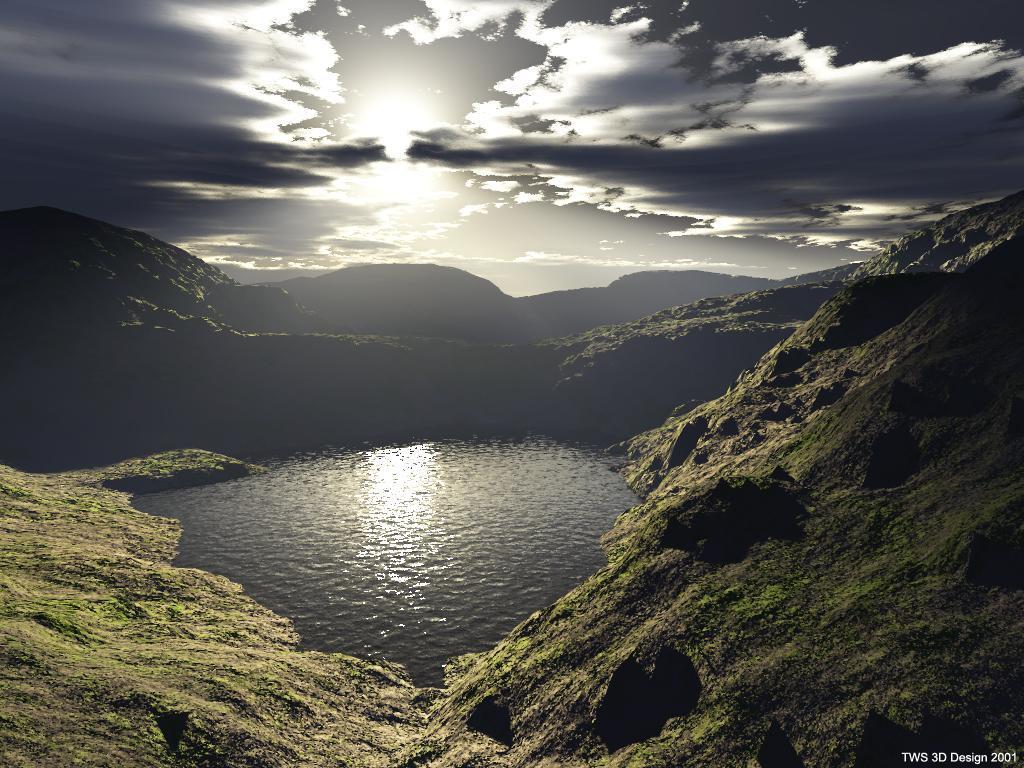 landscape lake victoria image