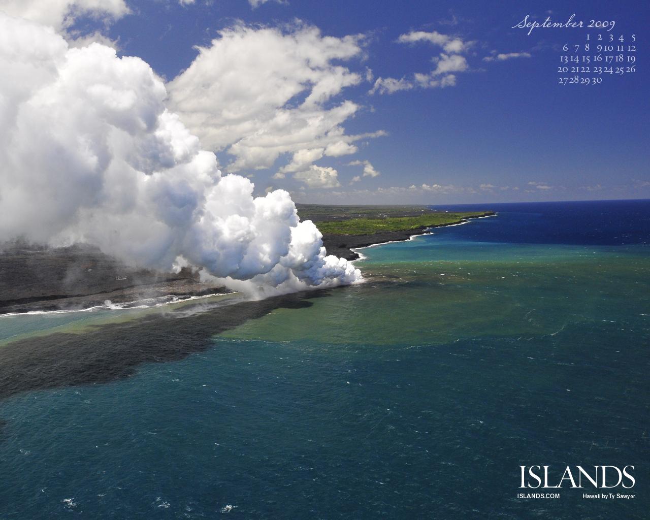 clouds sea cayman Islands