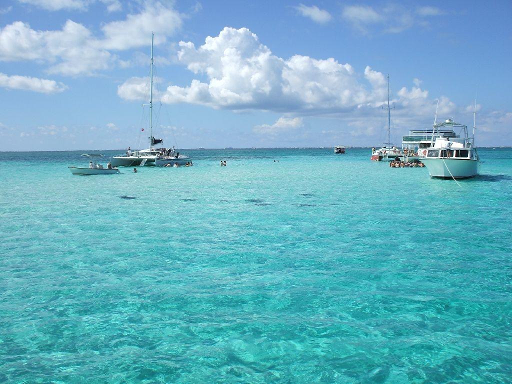 scenery cayman Islands wallpaper