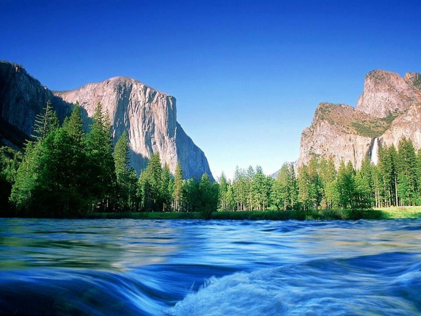 natural river wallpaper