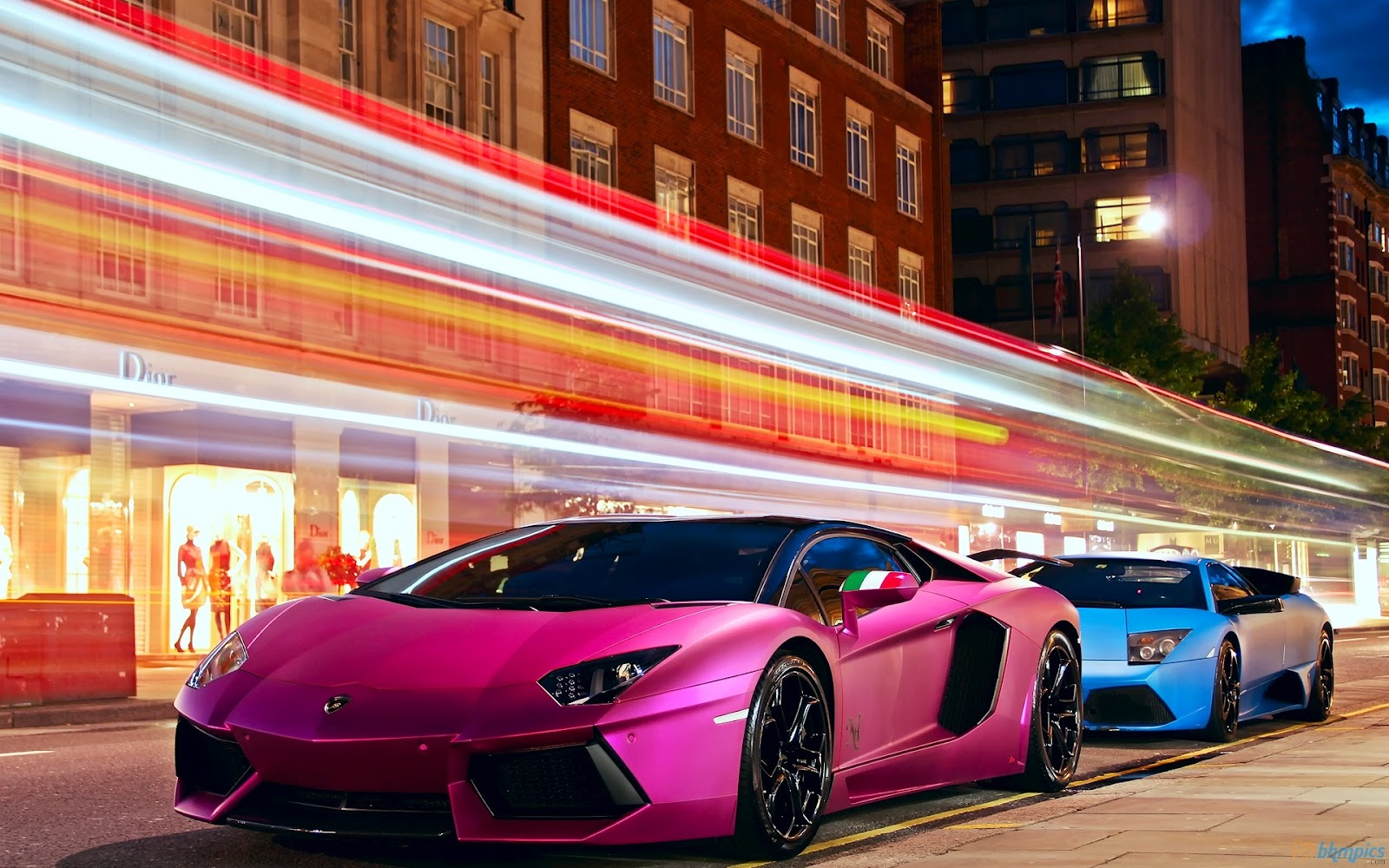 lamborghini pink car image