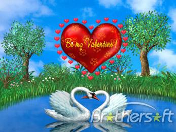 art animated love wallpaper