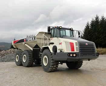 main pump terex truck pictures