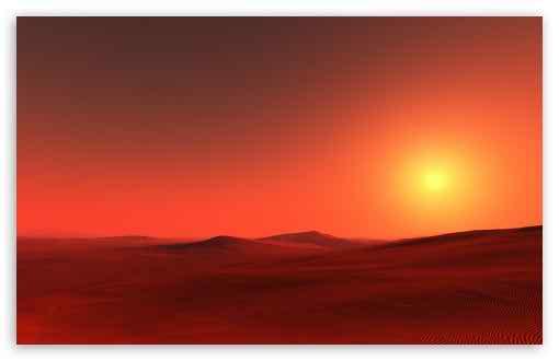 sundown sahara wallpaper