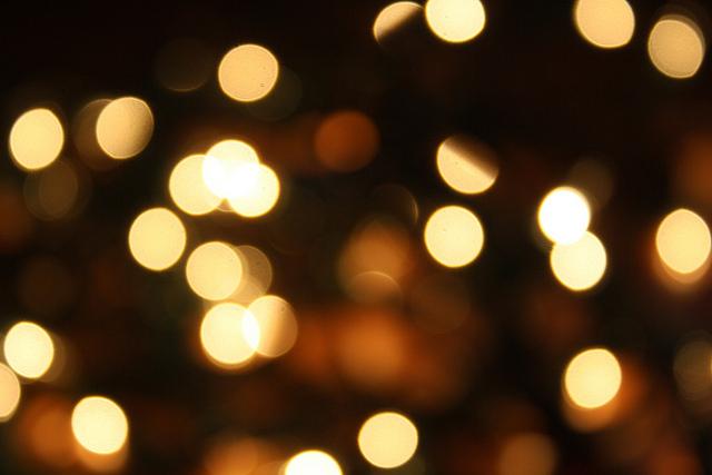 White Outside Christmas Lights