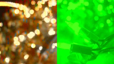 stock footage white christmas lights