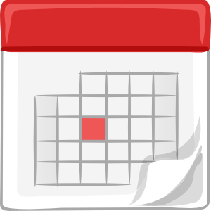 high quality calendar clipart
