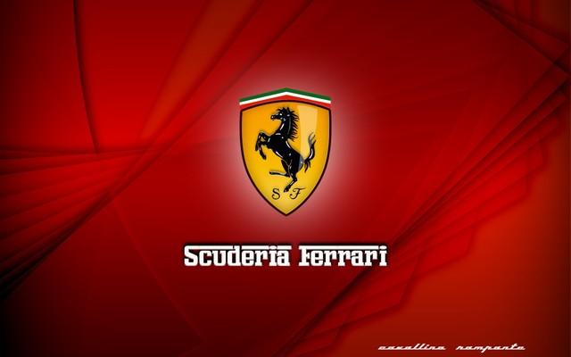 red background ferrari logo images