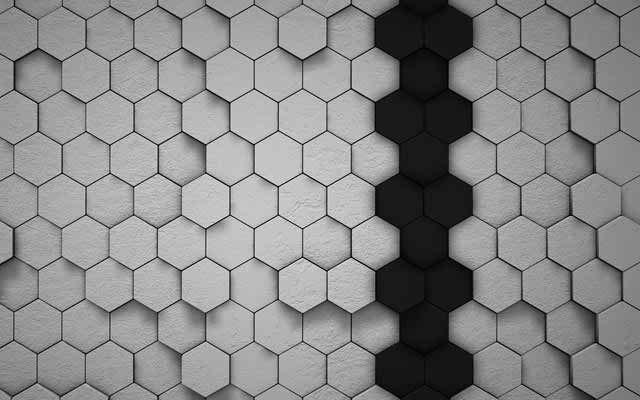 digital hexagon wallpapers image