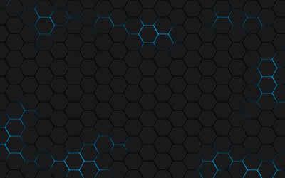full 3d hexagon wallpapers