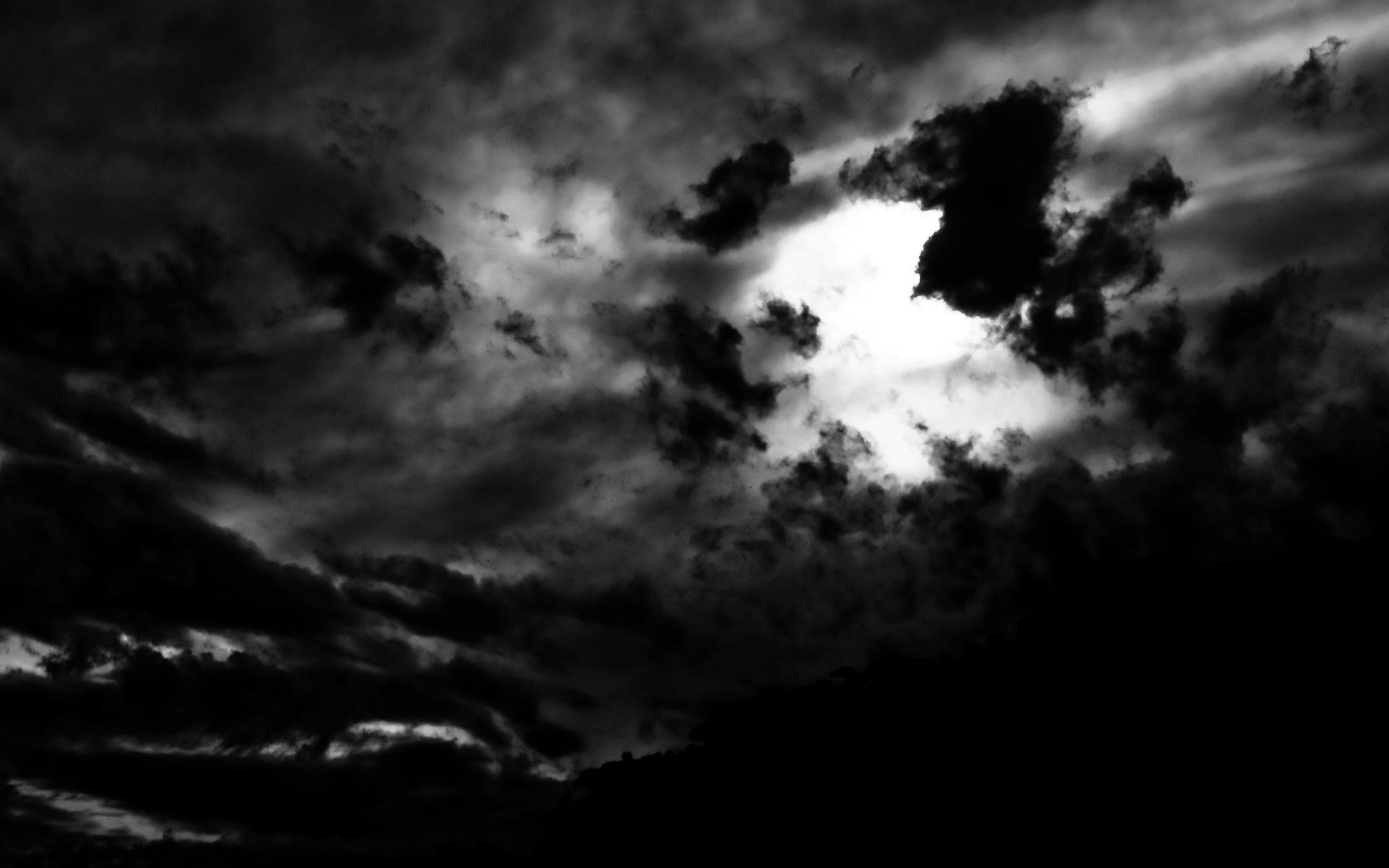 cloudy weather hd dark wallpaper