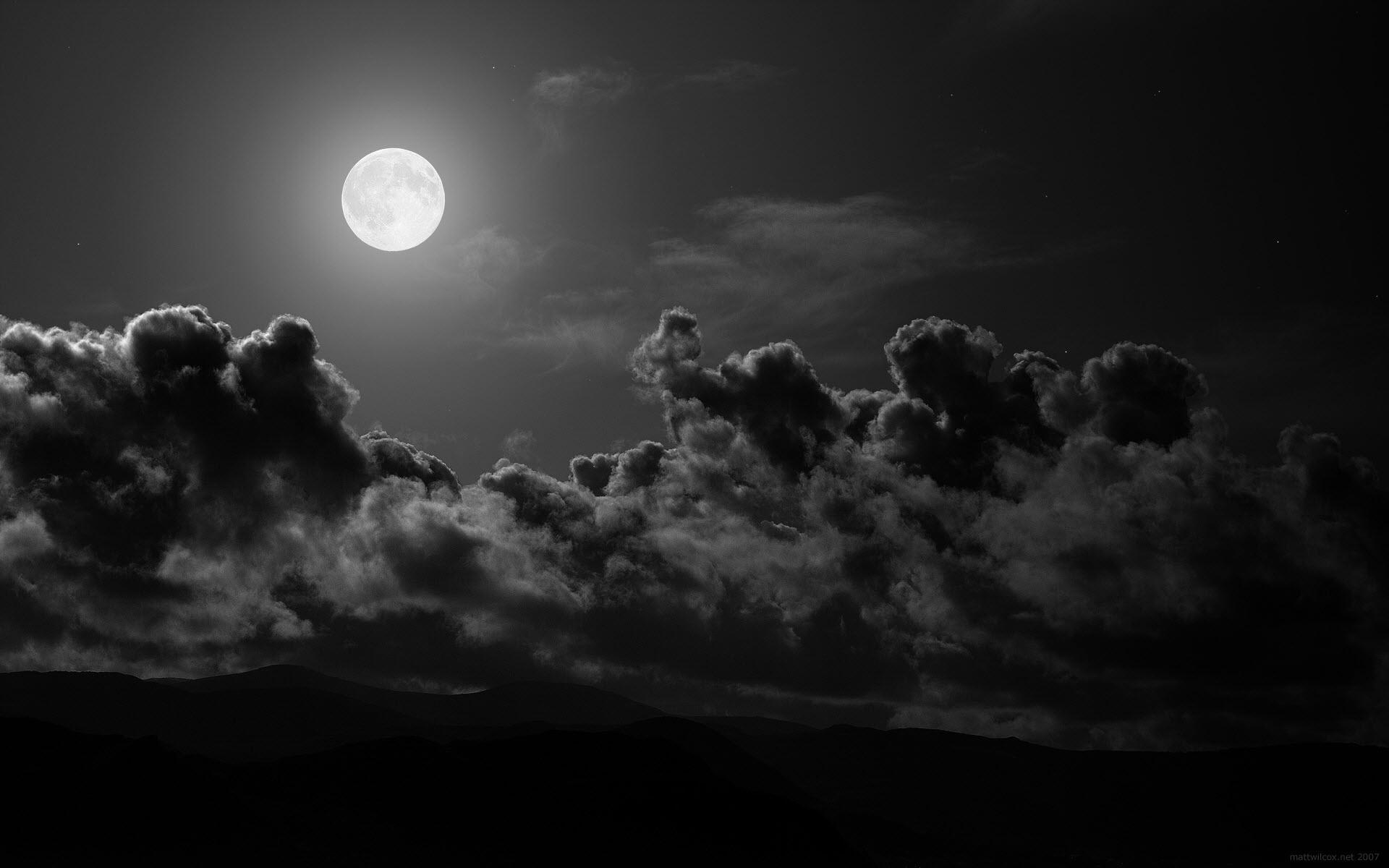 dark sunset high resolution image