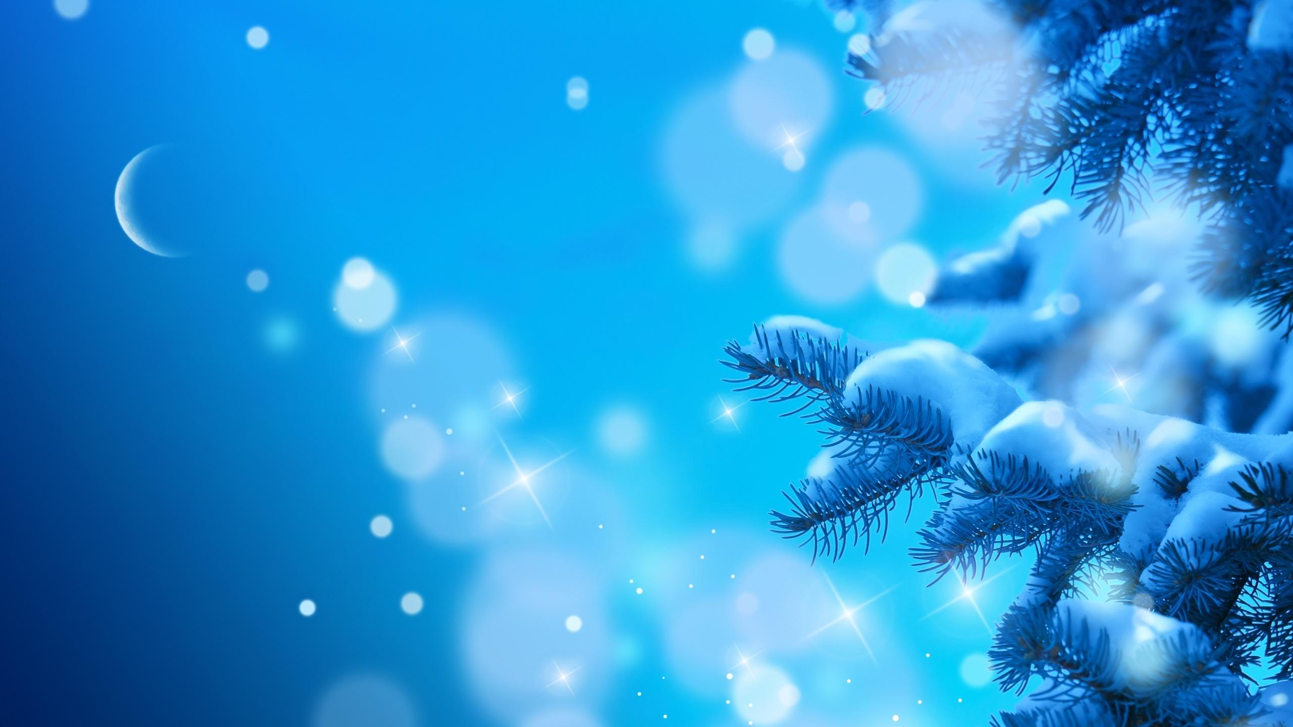 blue background winter art wallpapers