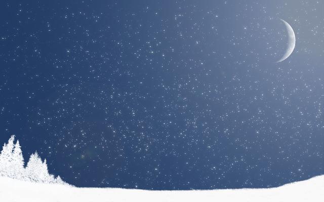 widescreen winter art wallpapers