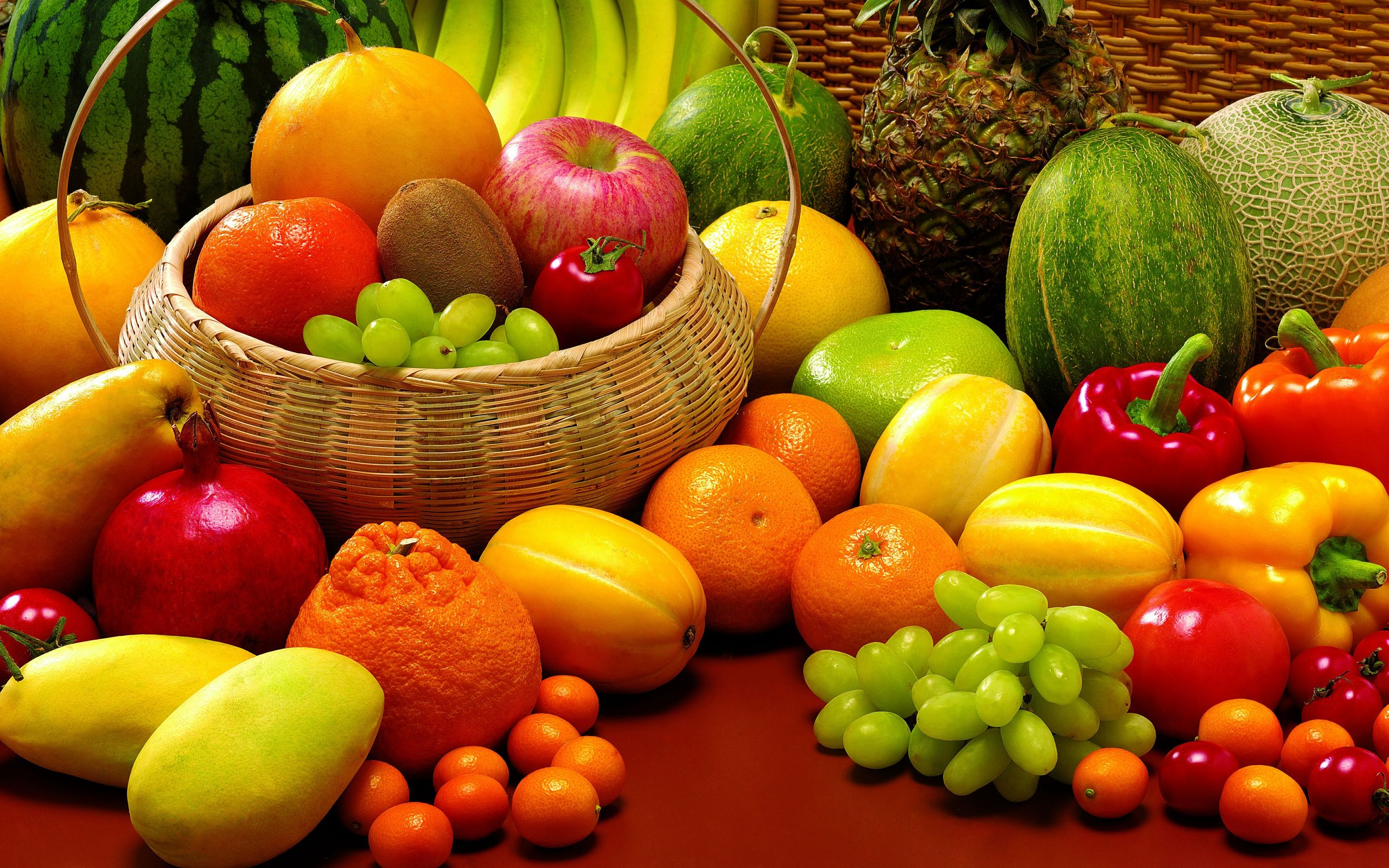 mix fruit wallpaper