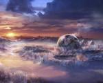 high quality fantasy world background