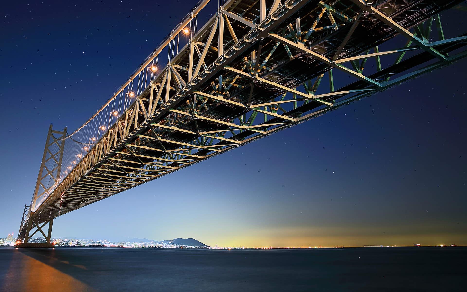 natural hd pearl bridge wallpaper