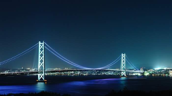 night city hd pearl bridge wallpaper