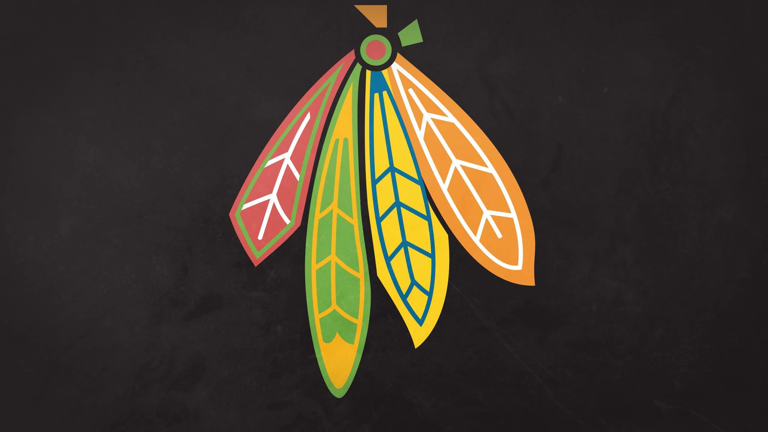 leaf chicago blackhawks background