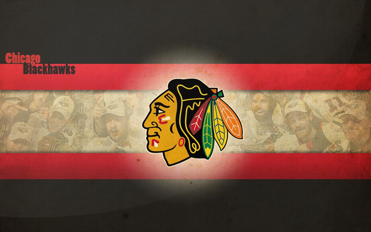 digital chicago blackhawks background