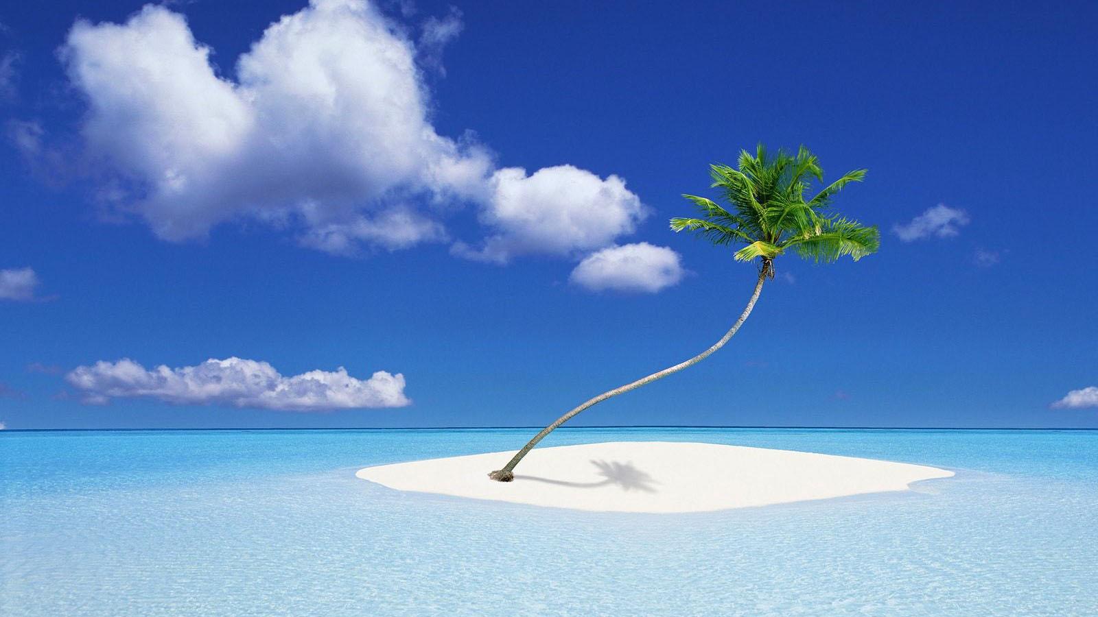 island scenery image desktop