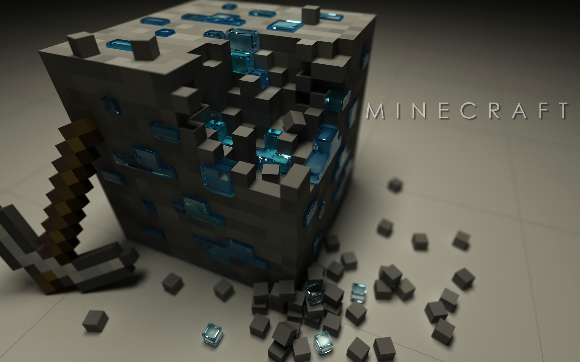game hd minecraft wallpaper