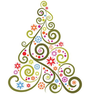 abstract hd christmas designs