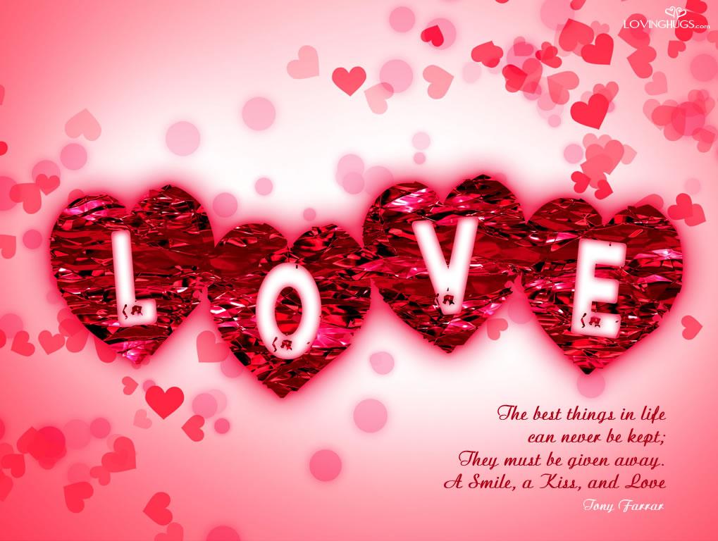 digital love image wallpaper