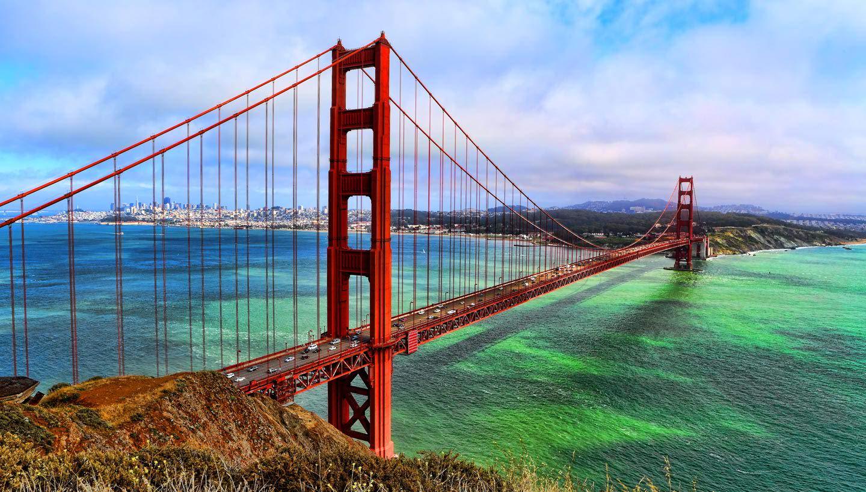 Golden Gate Bridge, Cool Golden Gate Bridge Image, #22427