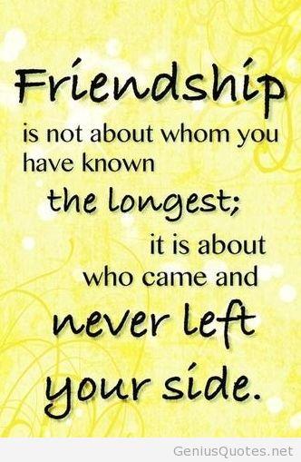 high resolution friendship quote
