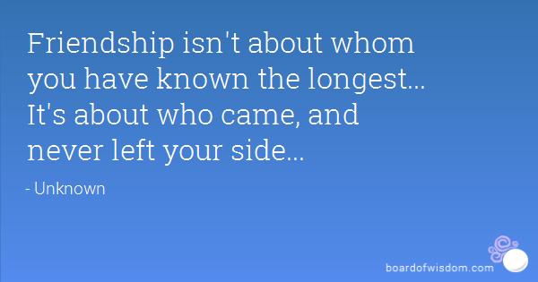 beautiful friendship quote